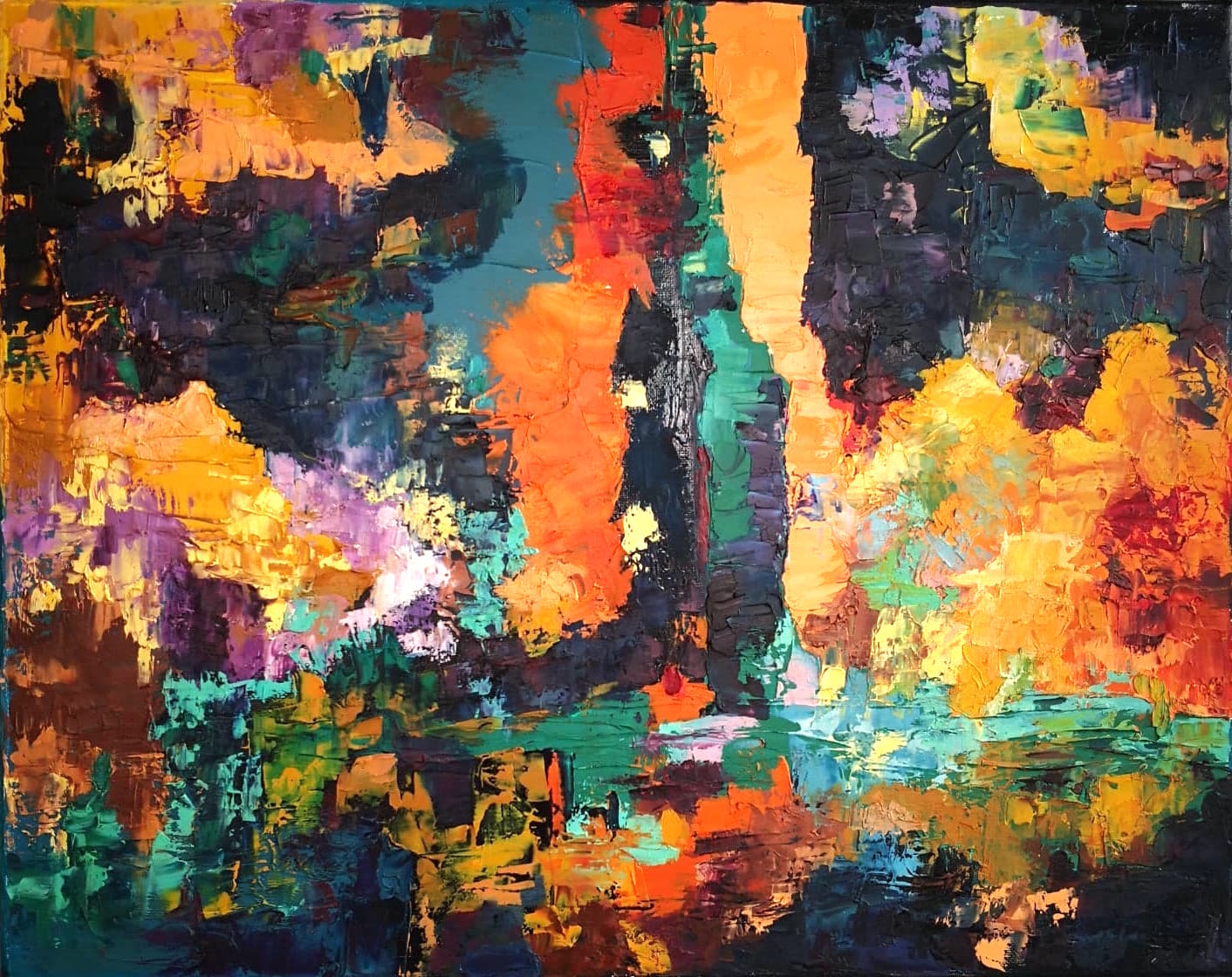 Heather M. Johnson, Tandem, Oil on canvas, 16 x 20 inches, $325.jpg