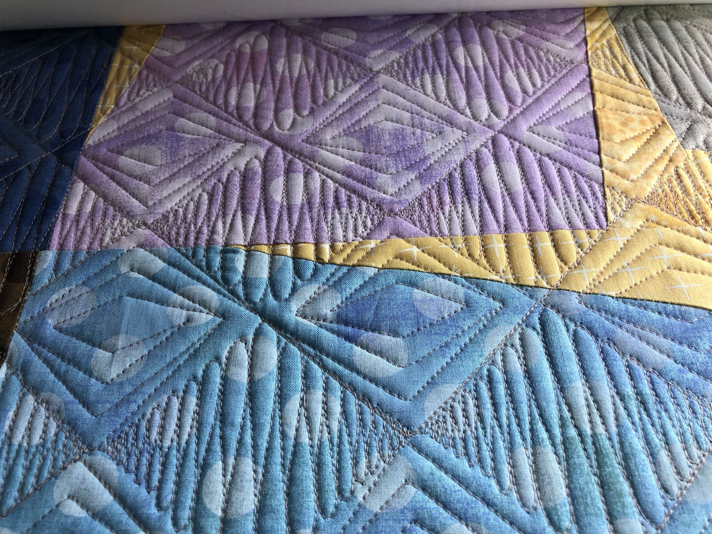 My Quilt: I like a lot of quilting!