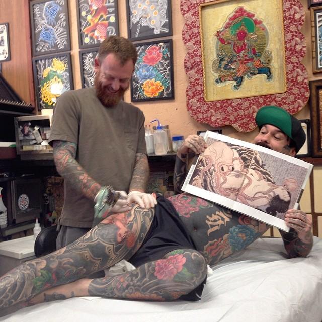 sebastian orth tattooist