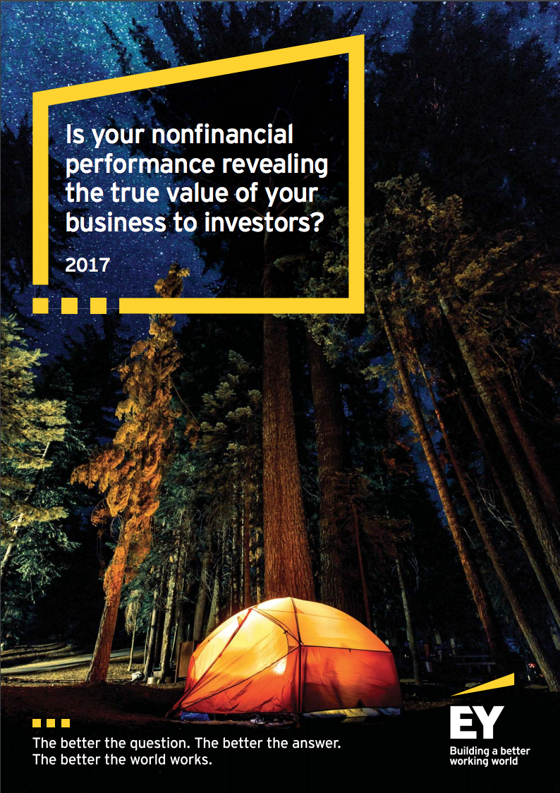EY 2017 THE VALUE OF NON FINANCIAL PERFORMANCE TO INVESTORS