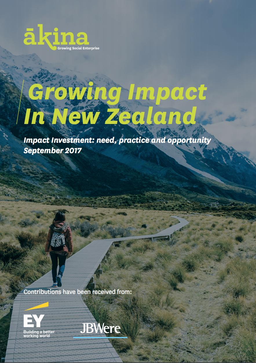 AKINA 2017 GROWING IMPACT IN NEW ZEALAND