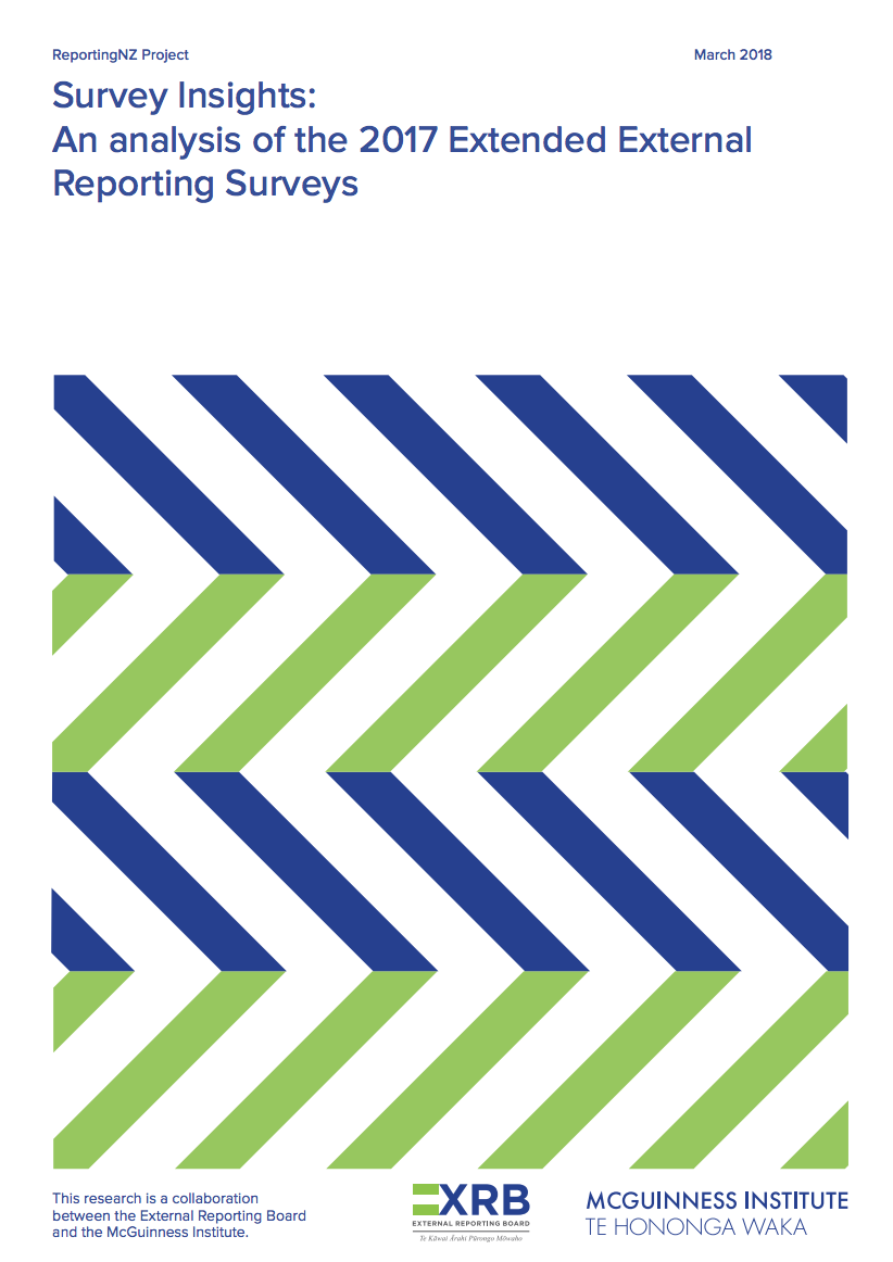 REPORTING NZ 2018 WORKSHEET: AN ANALYSIS OF THE STATE OF PLAY OF EER