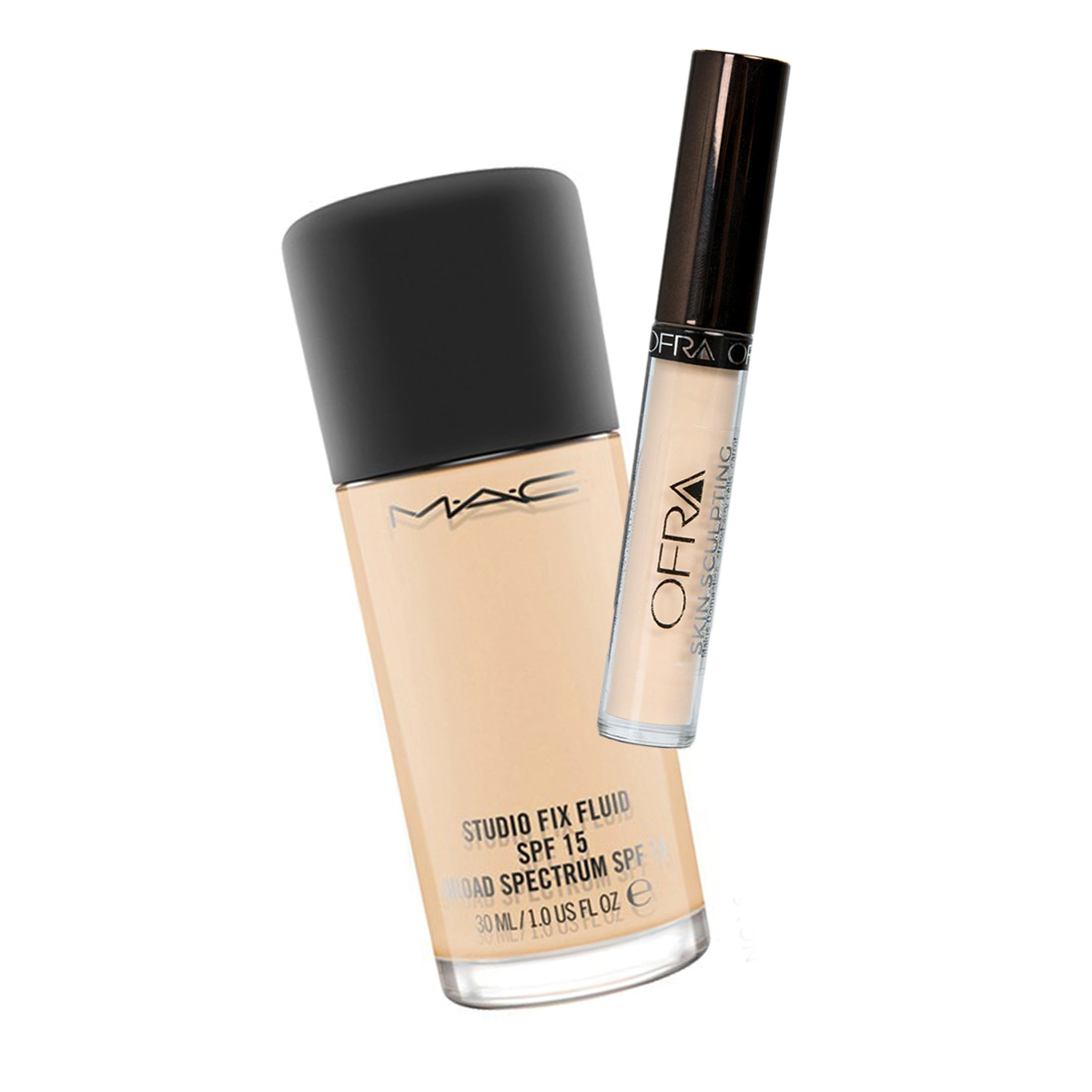 M.A.C COSMETICS STUDIO FIX FLUID SPF 15 FOUNDATION  //  OFRA COSMETICS SKIN SCULPTING WAND