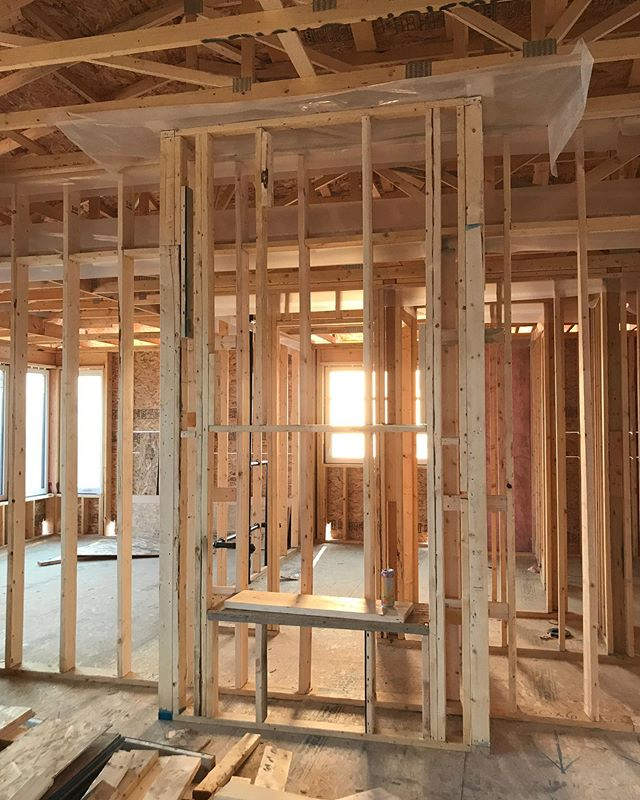 New sunrise, new day, new beginnings! ⁠⠀ ⁠⠀ Framing is always an exciting part of the construction process for homeowners because they begin to see their dreams take shape. 🏠⁠⠀ ⁠⠀ We'd love to be a part of that story in your life and help you achieve your dream home. Give us a call to find out how we can make it happen!⁠ 📲 #LUXQualityOnly⁠