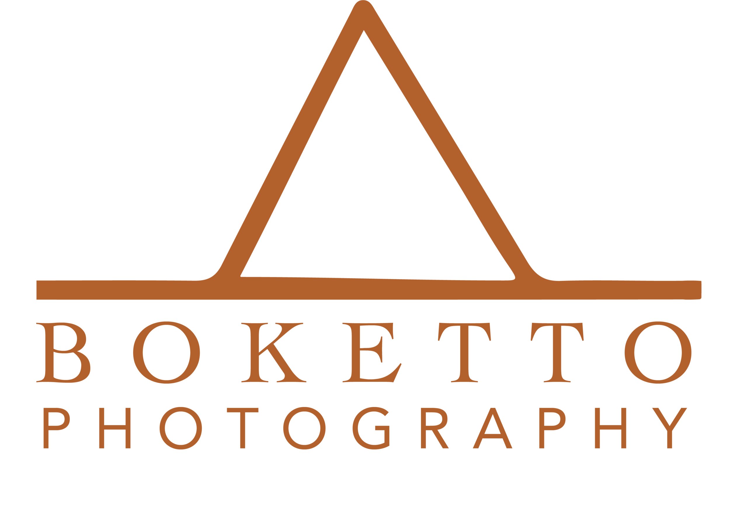 Boketto photography - Logo and ReBrand October 2018