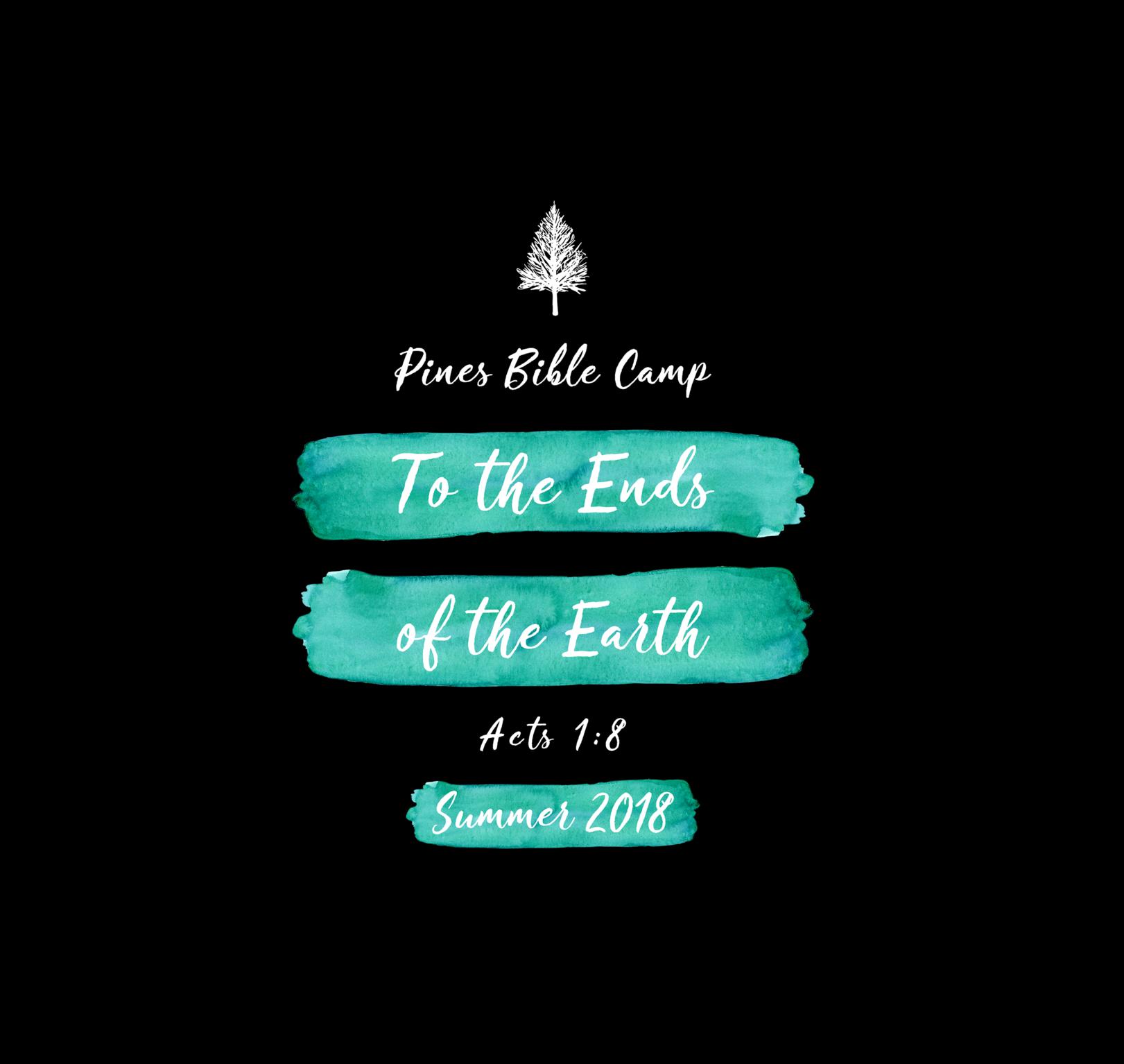 Pines bible camp - Summer 2018 logo