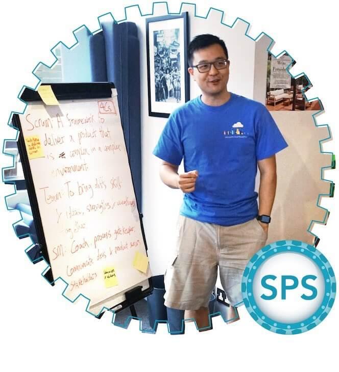 Scaled professional scrum -
