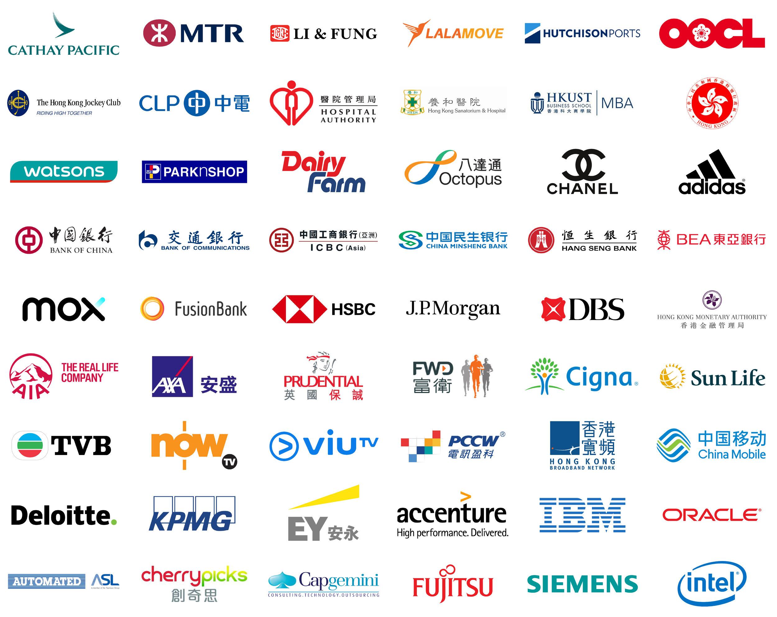 Scrum Hong Kong/ Lorenz Cheung recent Clients