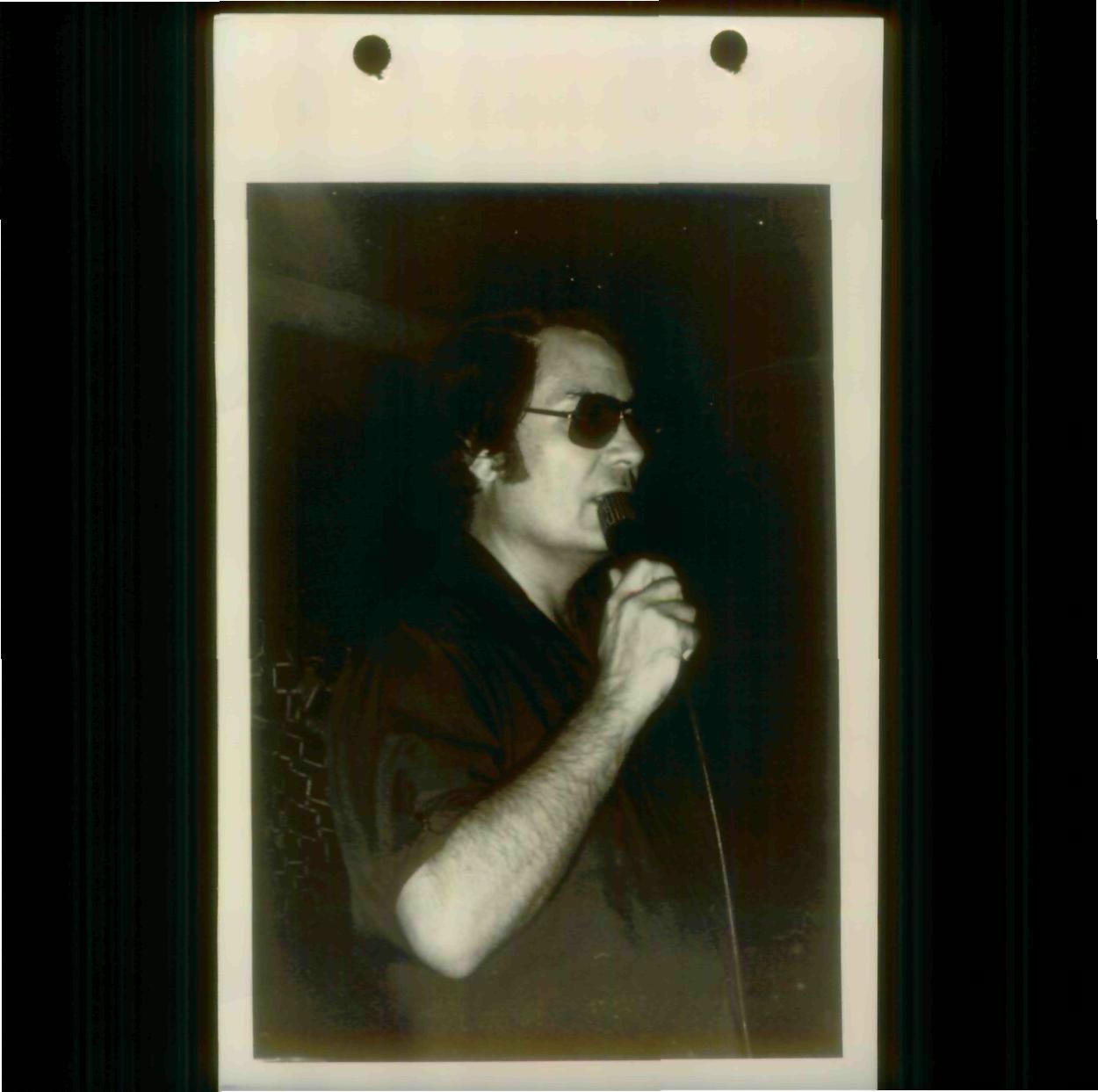Jim Jones speaking to Peoples Temple in 1978. Photo courtesy of Laura Johnston Kohl via Peoples Temple/Jonestown Gallery (Flickr)