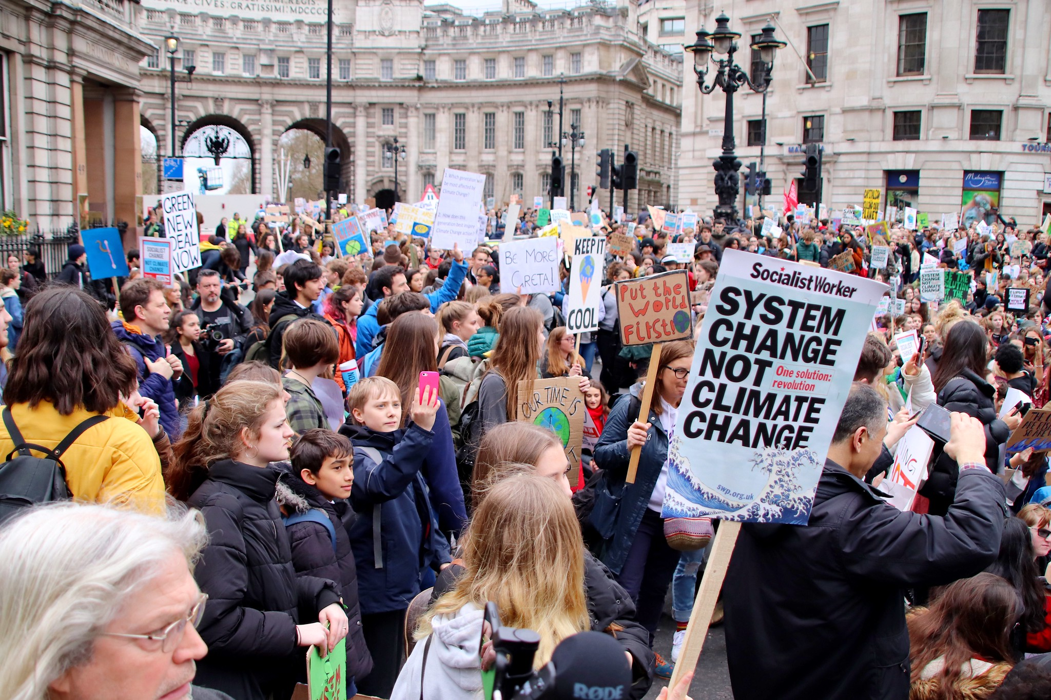 Youth Climate Strike in London via  Flickr