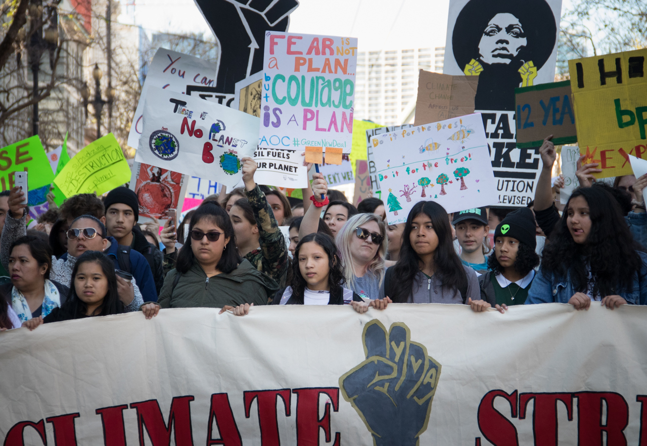 Youth Climate Strike in San Francisco via  Flickr