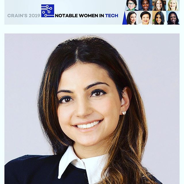 Thank you Crain's New York for the feature in Notable Women in Tech. So nice to be surrounded by such great women! https://www.crainsnewyork.com/awards/notable-women-tech-2019-jackie-elnahar