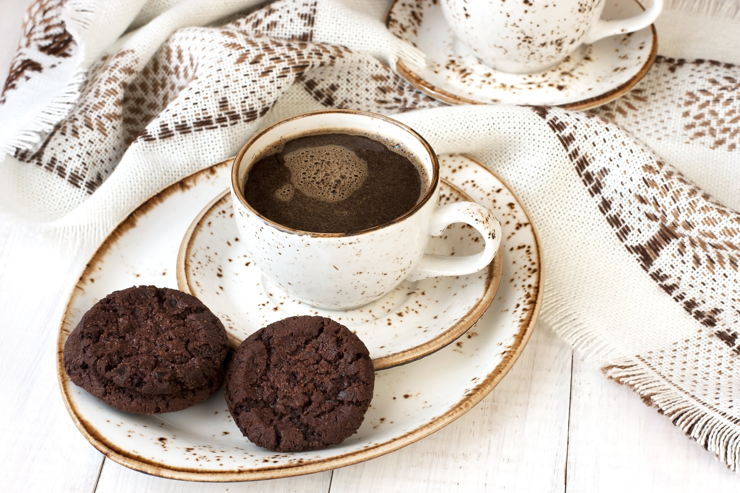 Coffee cookie pic