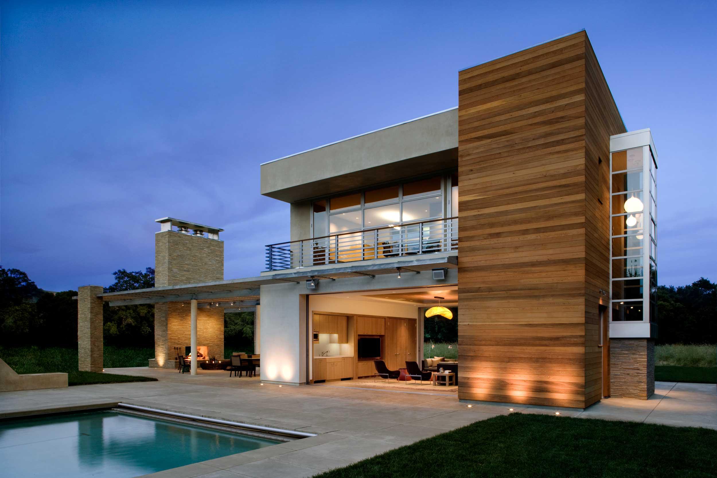 Sonoma Pool House