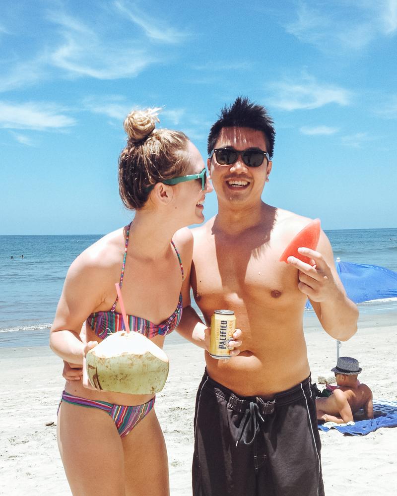 Fun at the beach in Sayulita