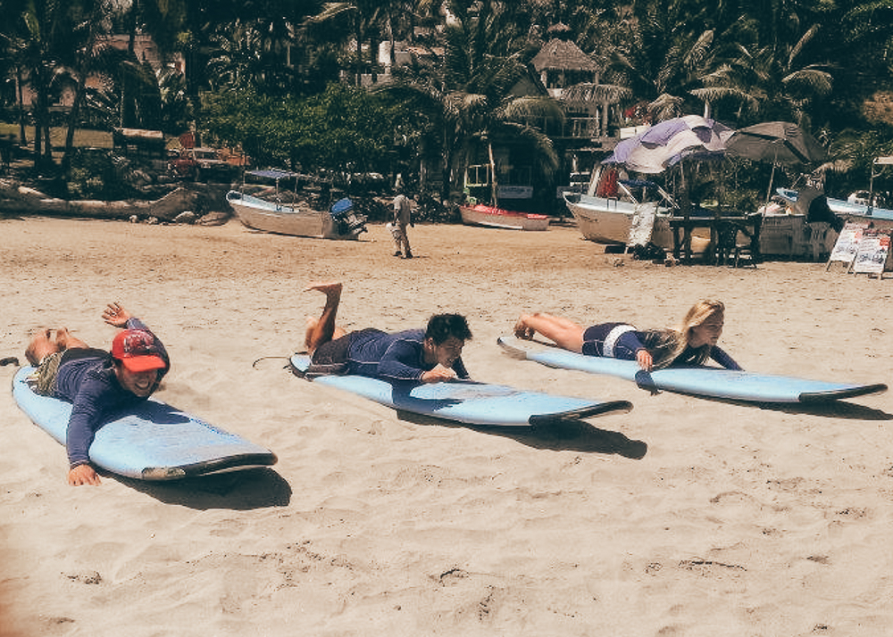 Surfing Lessons in Sayulita