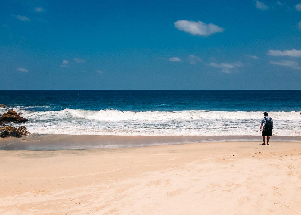 Secret beach in Sayulita