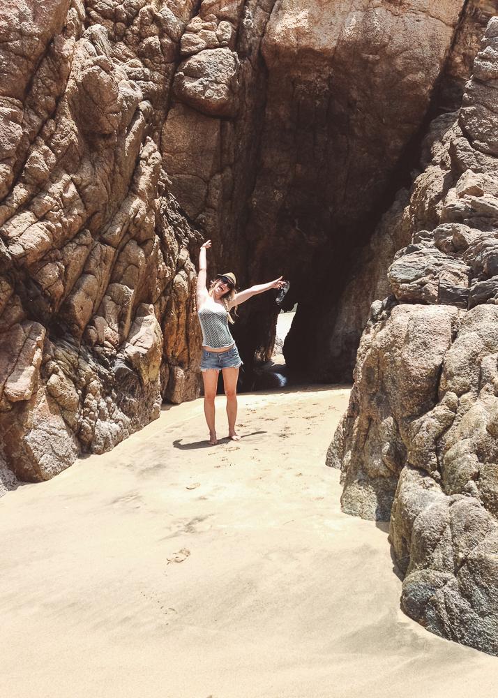 Secret Cave in Sayulita