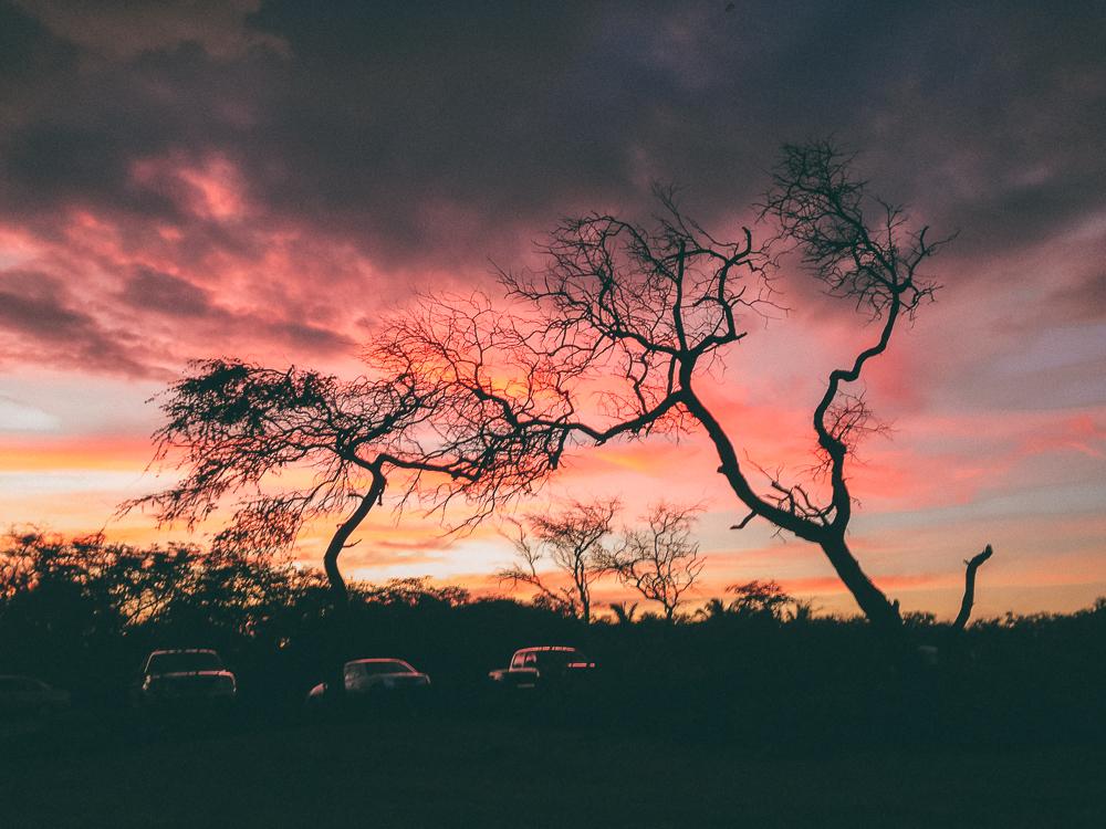 Beautiful Sunset Maui Hawaii