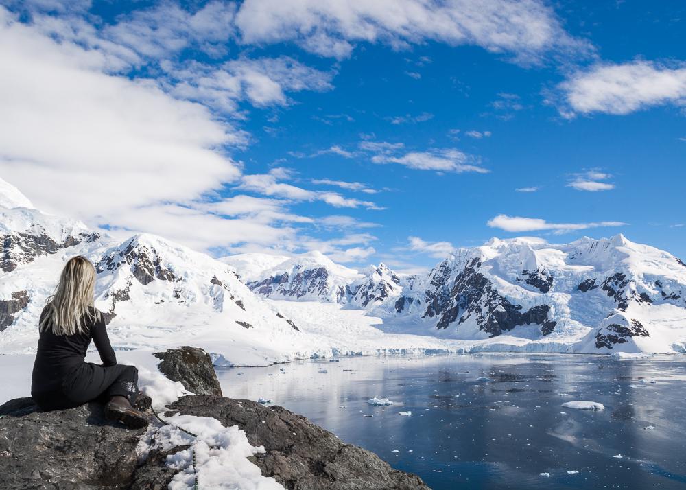 Surreal Landscape in Antarctica