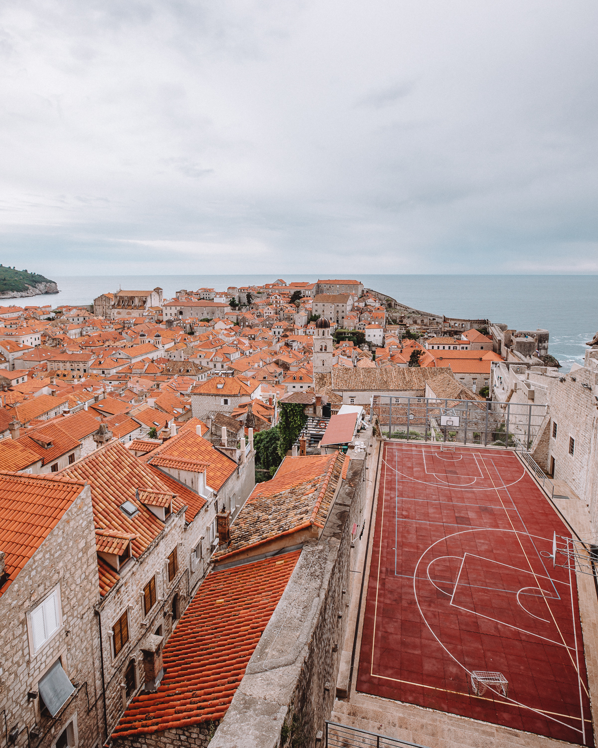 View from Walls of Dubrovnik