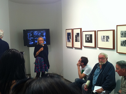 Project artist Marian Hardman (nee Marrison) discusses the photographs she took to document Green Bans back in the mid 70's- on show at Firstdraft Depot project space and some of the inspiring locals she documented. also mentioned how some things gain significance over time and how powerful it was to be given the opportunity to revisit the project.