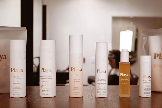Now selling | P l a y a | a simple, laidback, and healthy line of hair products that you'll love ! SLS + Paraben + Cruelty free✨ . . . . . . #easteighteenth #badhabitsgoodhair #coffeedose #ochairsalon #oc #orangecounty #costamesa #playa #hair #hairproduct #healthy #ecofriendly #clean #salonfamily