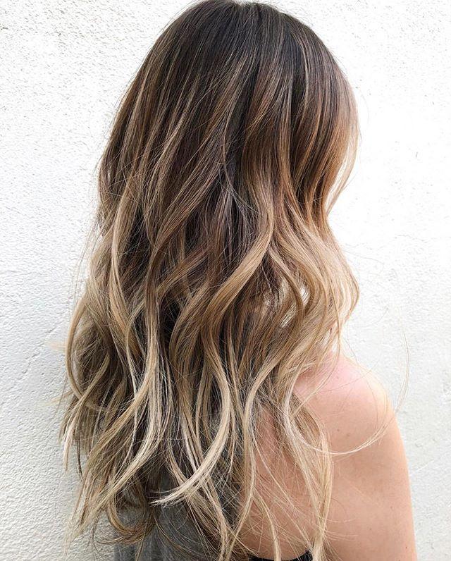 major hair envy 😍 | by @tesses.tresses . . . . . . #easteighteenth #badhabitsgoodhair #coffeedose #behindthechair #hair #haircolor #beachwaves #balayage #balayagehighlights #yage #ochairsalon #ochairstylist #oc #orangecounty #costamesa