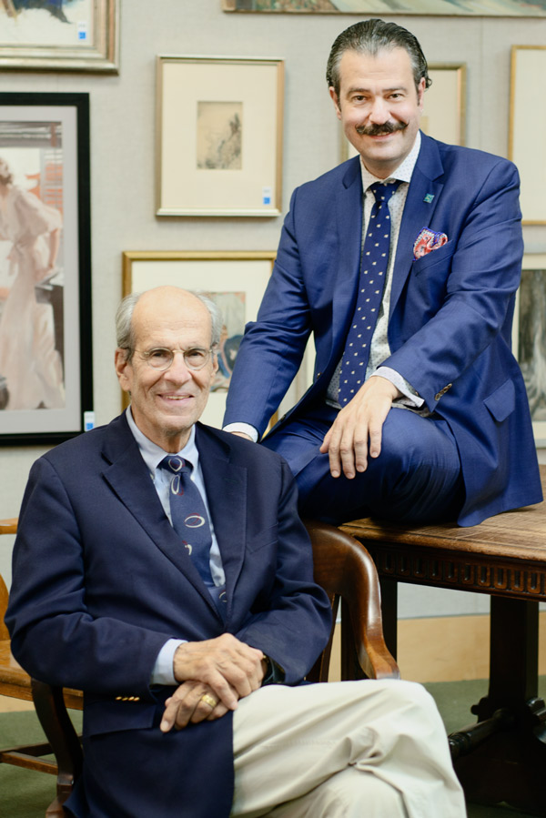 George S. Lowry, Chairman, and Nicholas D. Lowry President & Principal Auctioneer