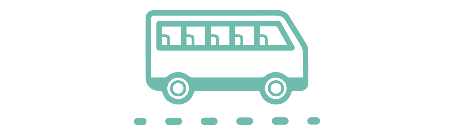 TRANSPORTATION   Don't drive high! Let us drive so you can enjoy the sights in our executive class tour bus. Group sizes are kept small for a more comfortable experience.