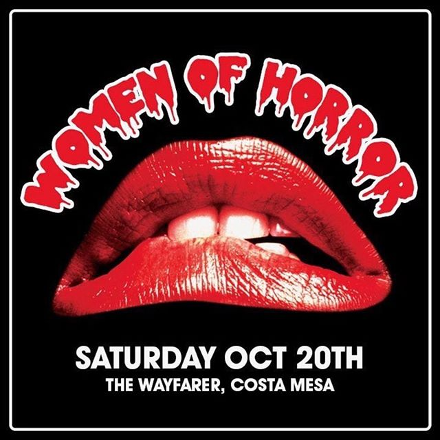 OUR NEXT EVENT: @women_of_horror ・・・ Get ready to do the TIME WARP on October 20th!!! ••••••••••••••••••••••• We have a special surprise NEVER BEFORE DONE ROCKY HORROR PICTURE SHOW SPECIAL EVENT that you do NOT want to miss!! •••••••••••••••••••••• Women of Horror 2018: SAVE the DATE •••••••••••••••••••••• @_hazychaos_ @growvision #rockyhorrorpictureshow #rockyhorror #womenofhorror2018