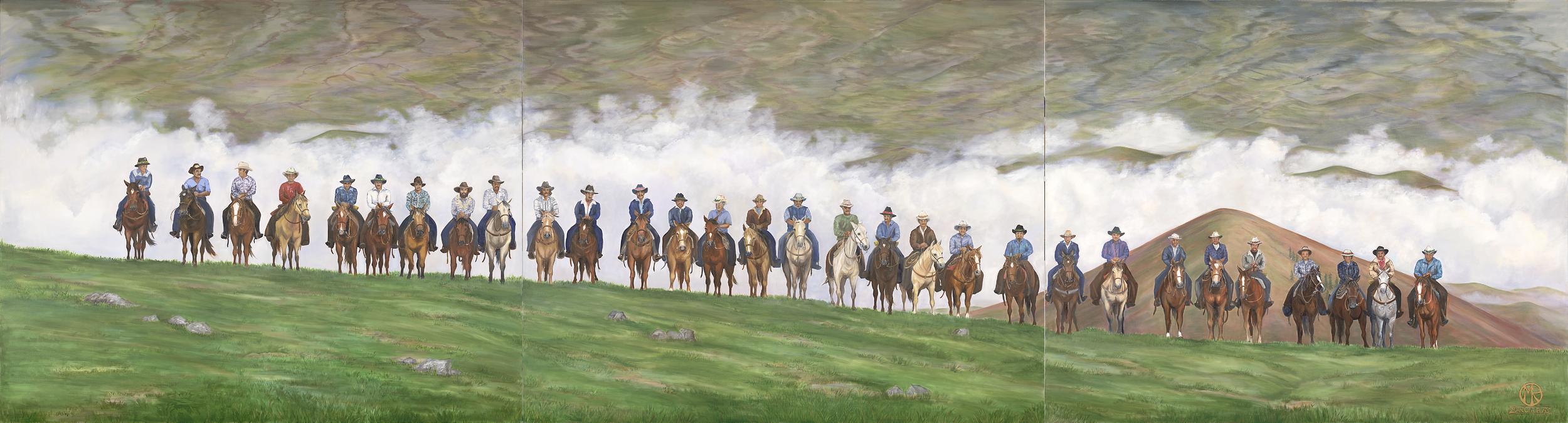 Paniolo (Cowboy Line-Up)