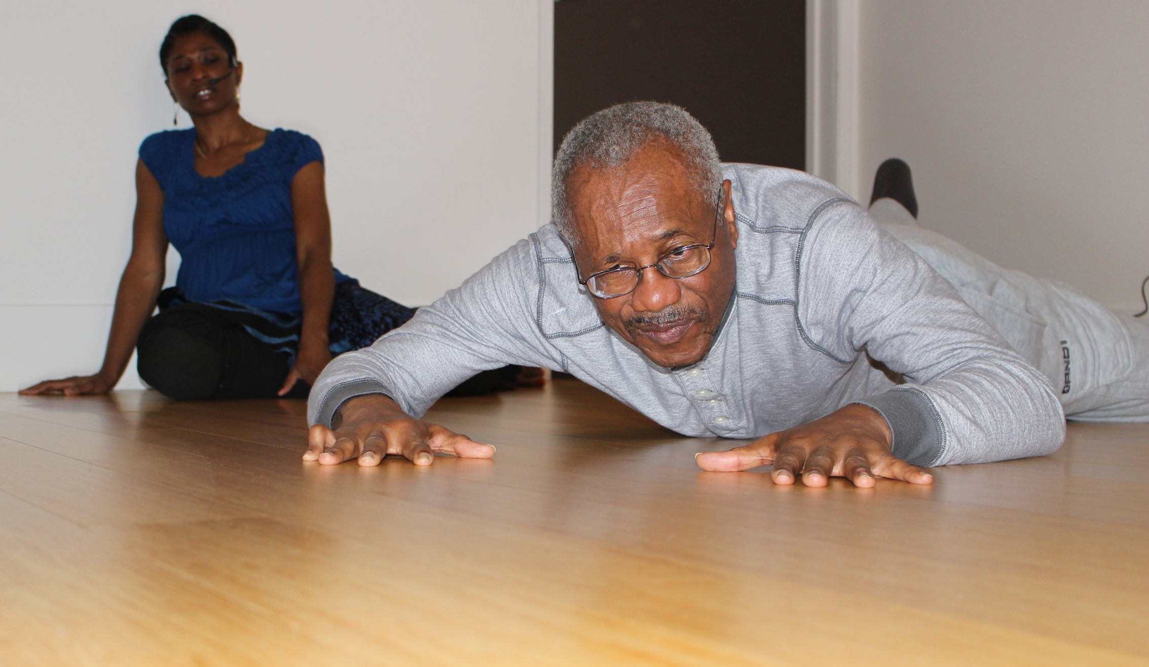 Mr. White doing Nia 5 Stages (Creeping) in his 1 on 1 session.