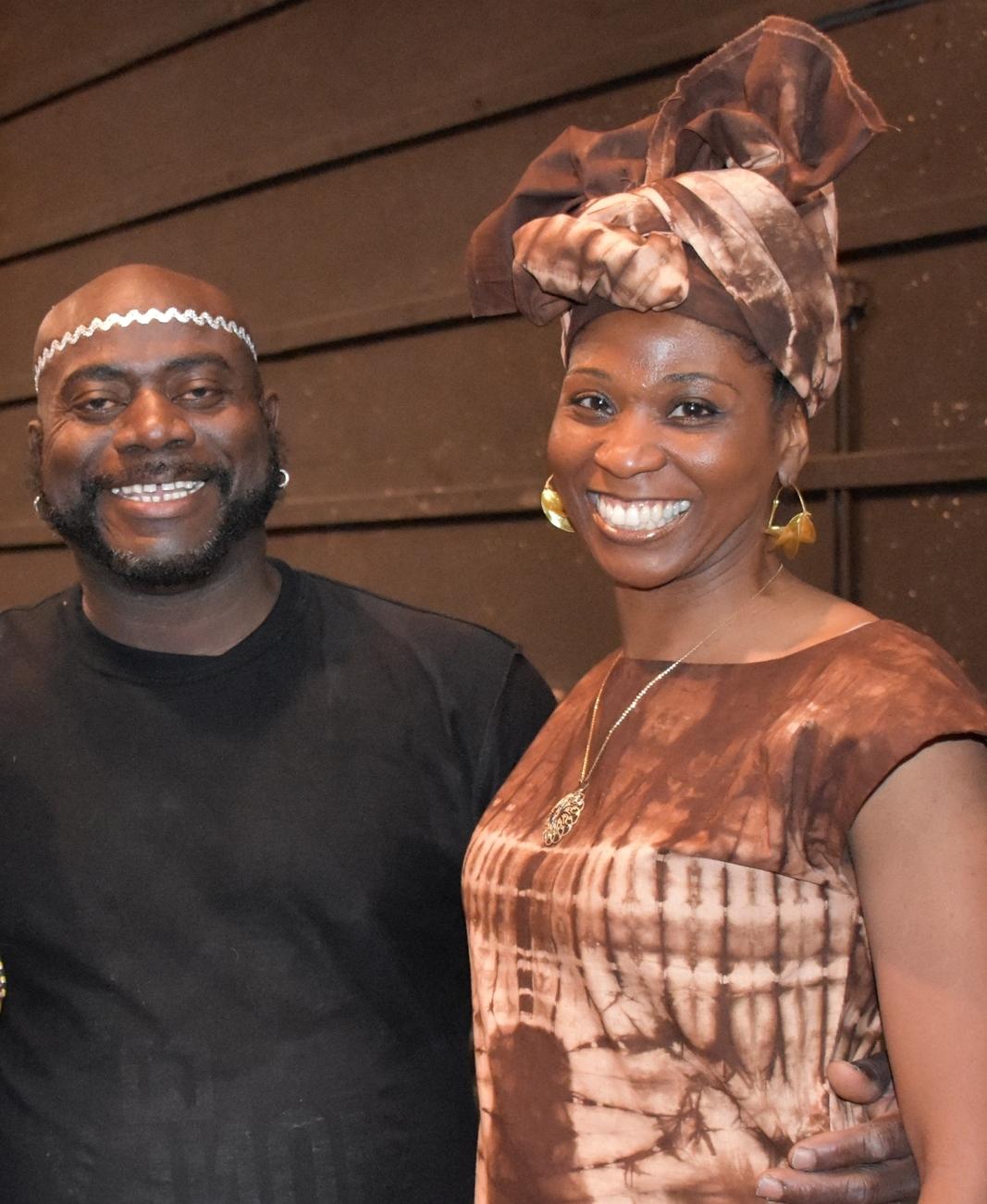 Farcia's teacher and advisor, Nimely Napla (Director of Nimely Pan African Dance Company)