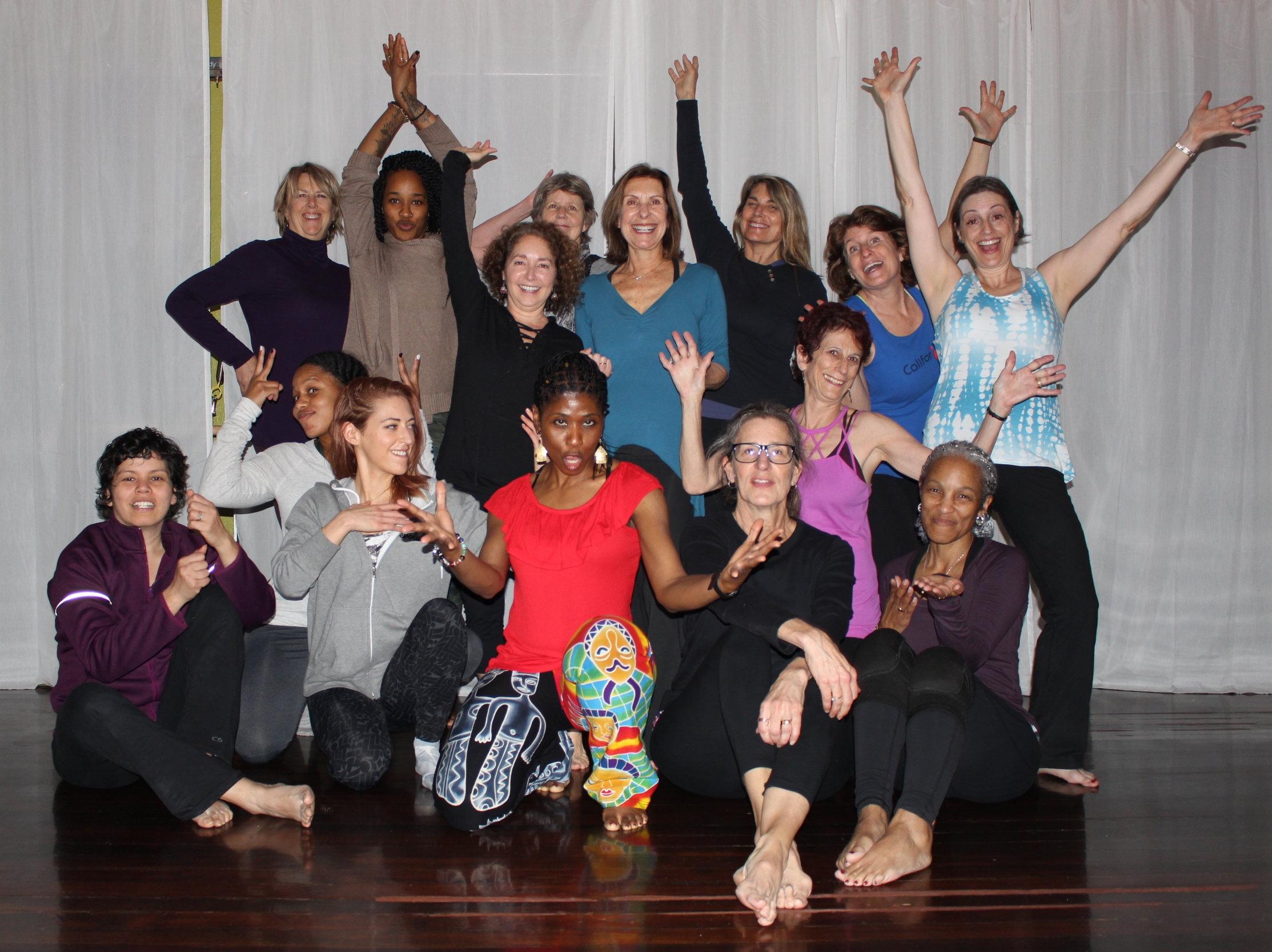 Farcia's Nia Workshop at Body Vibe in San Rafael, CA