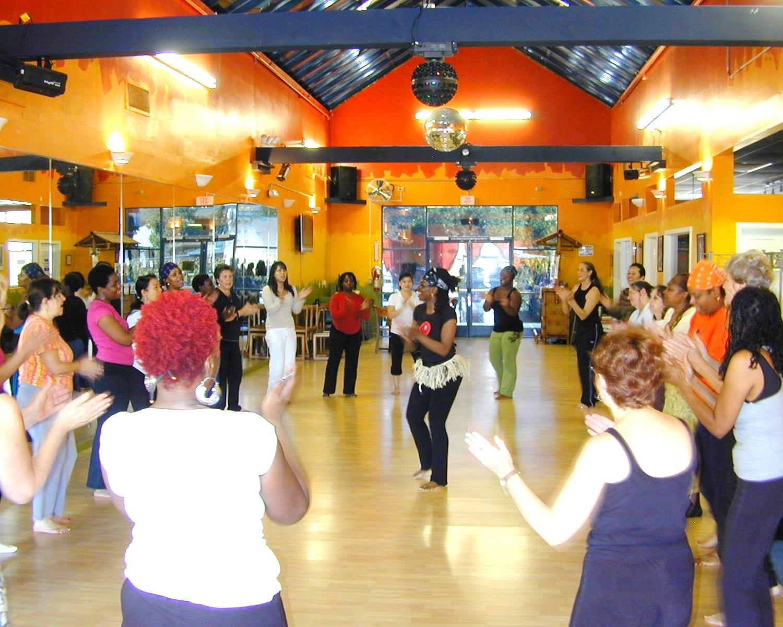 Farcia's Nia class at Let's Dance Ballroom in San Leandro, CA