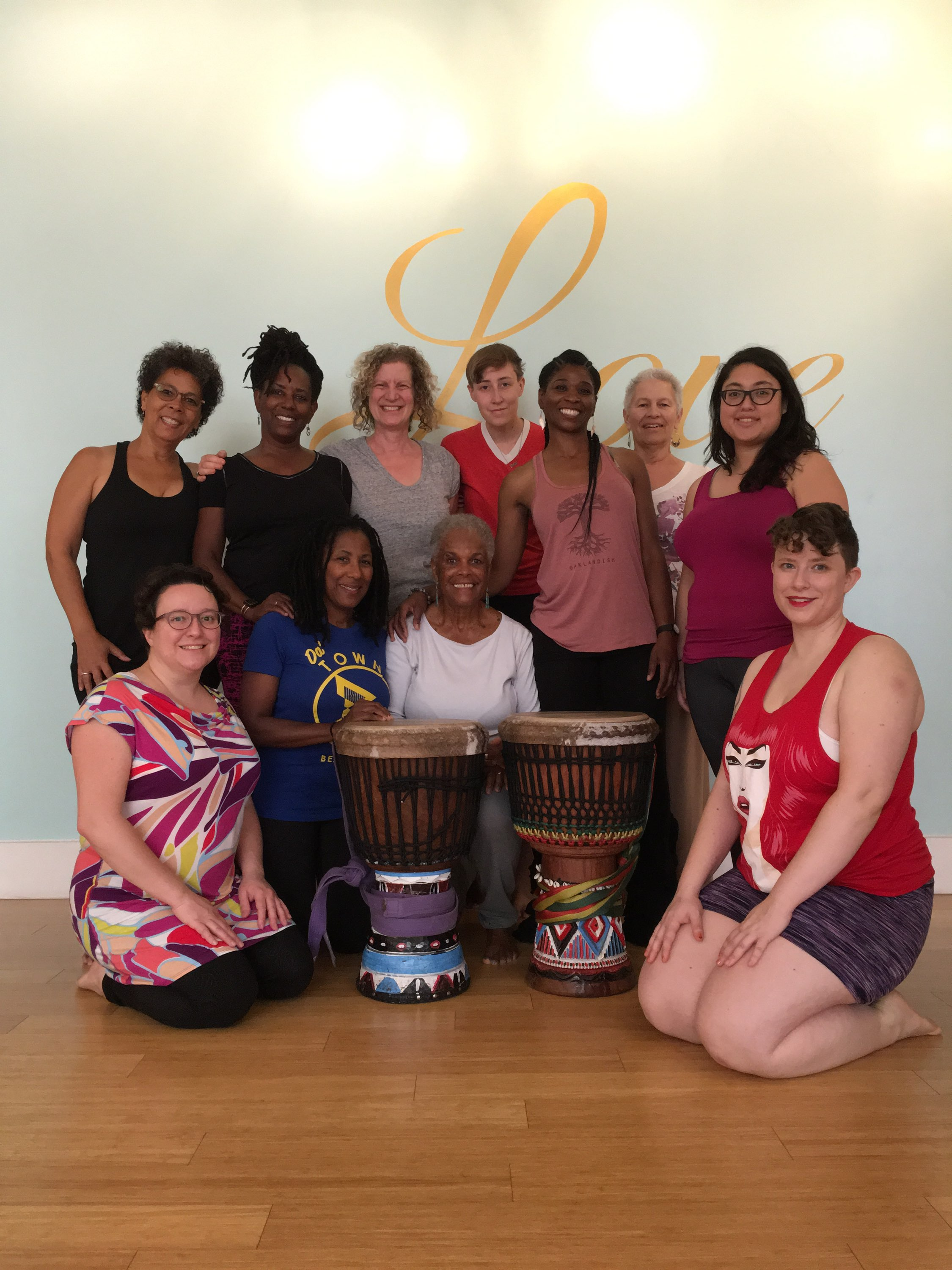 Farcia's Nia Workshop featuring African Healing Dance