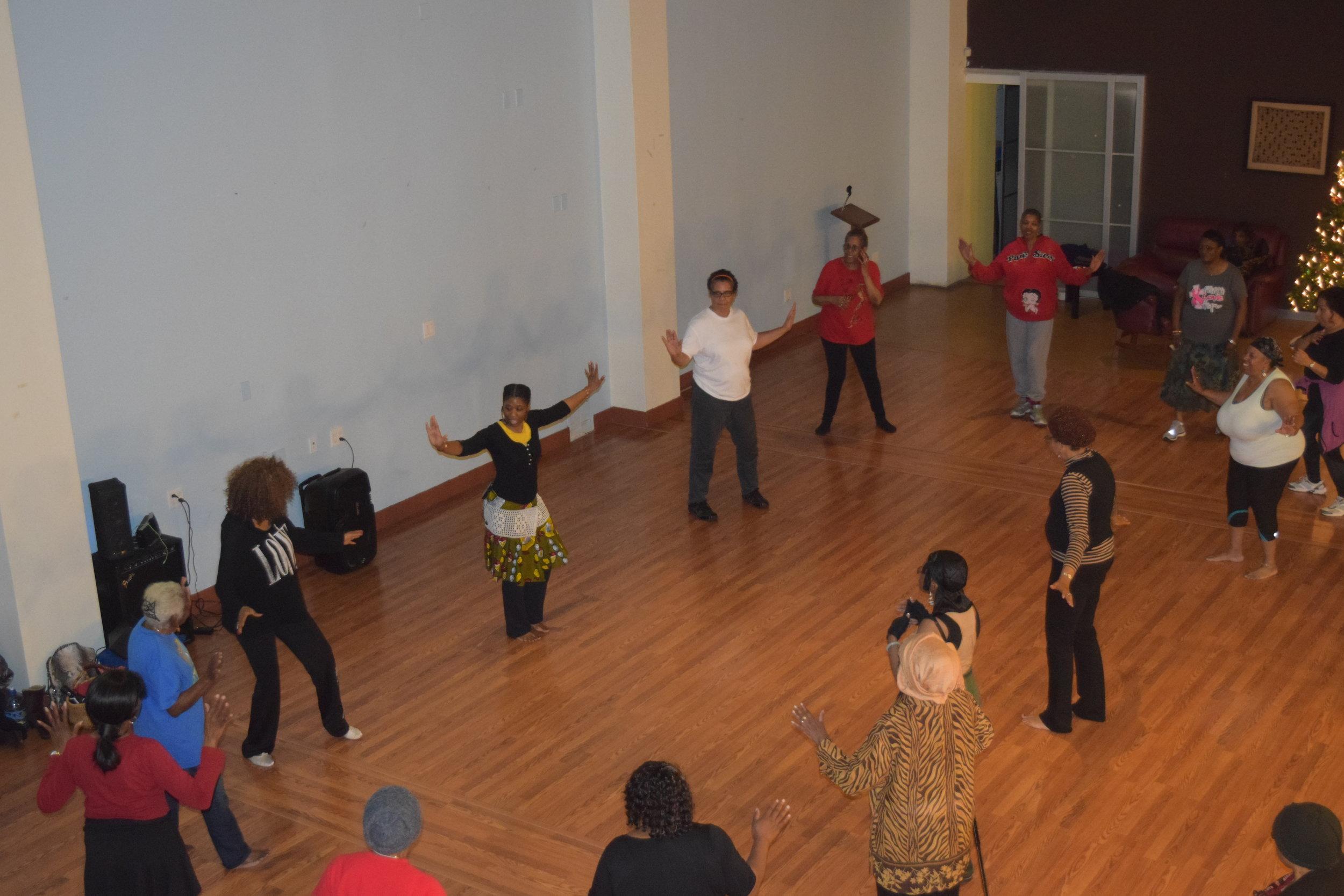 Farcia's Nia Class featuring African Healing Dance