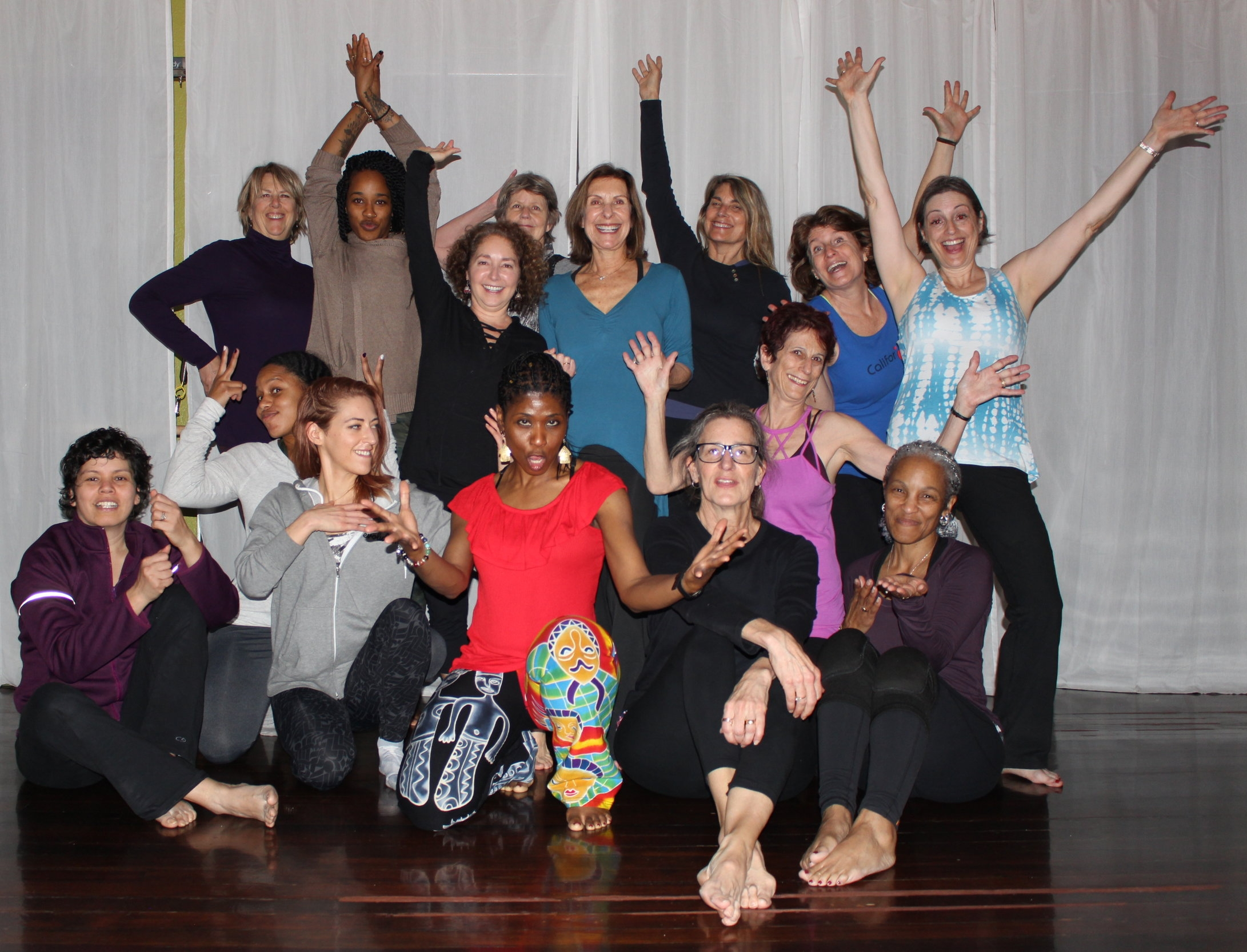 Healing Through Freedom and Form:  A Nia Workshop    at Move Me Studio in San Rafael, CA