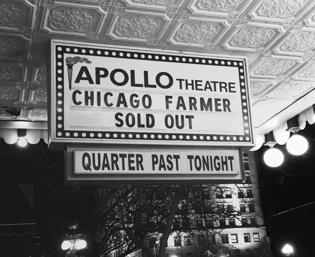 Live Album | Chicago Farmer | Quarter Past Tonight at the Apollo.jpg