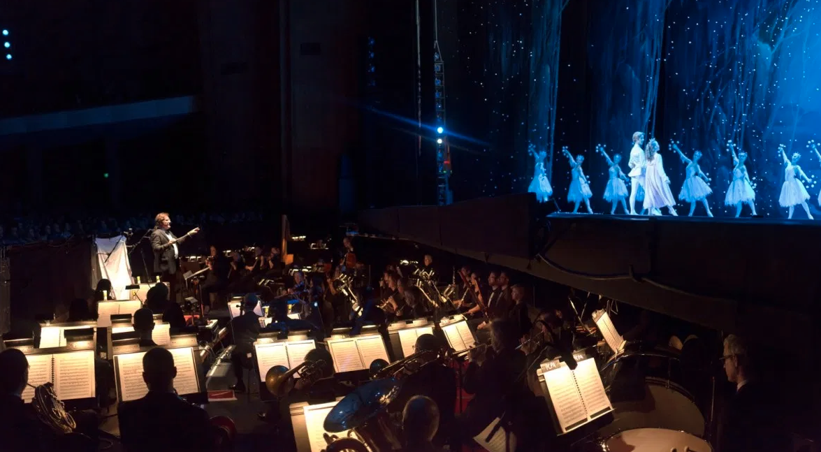 Twelve Nutcracker performances feature the OBT Orchestra, an experience like no other. Photo by James McGrew