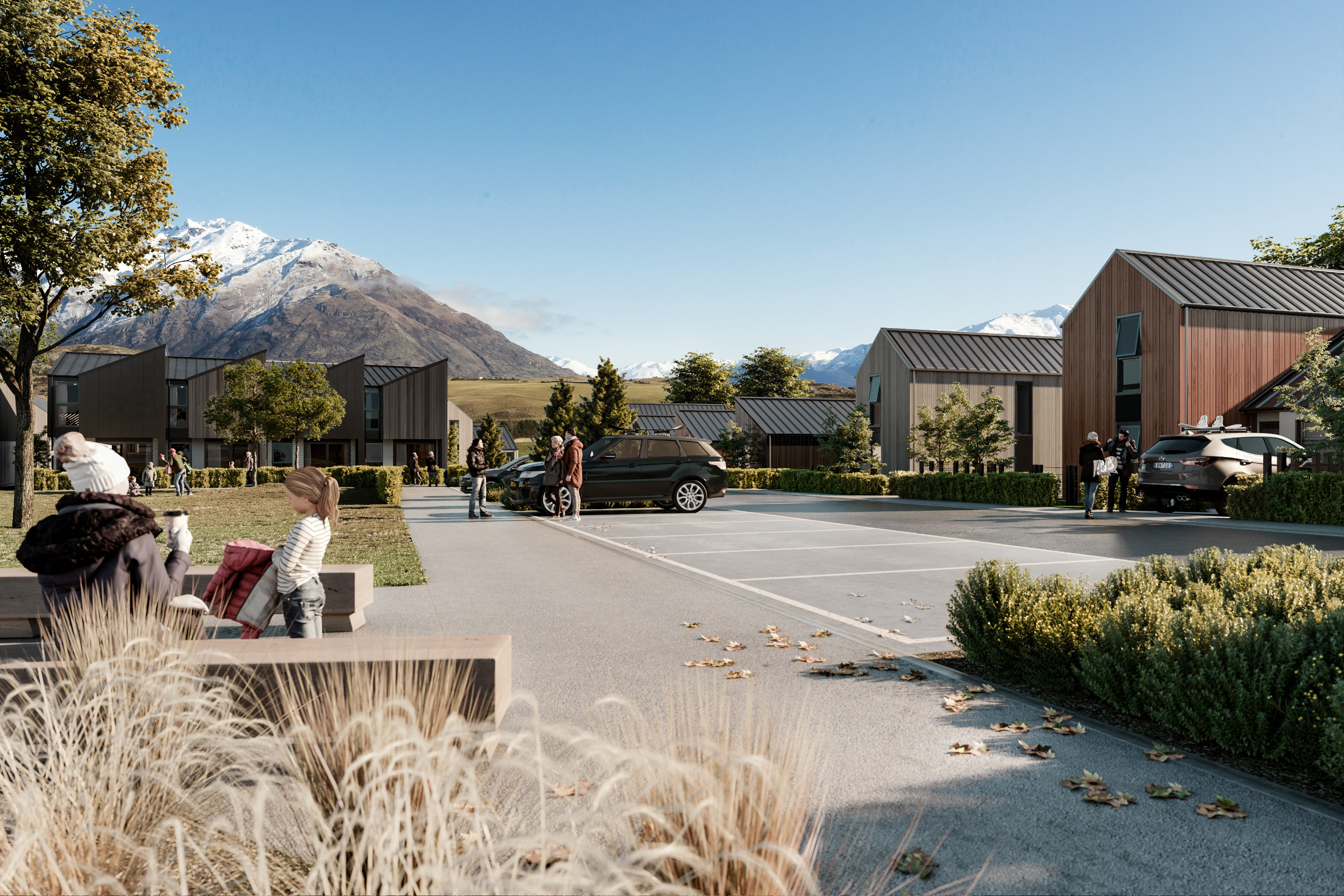 Station View - Selling now. Seventy-two impeccably built homes, in six stunning designs located in the new Village.