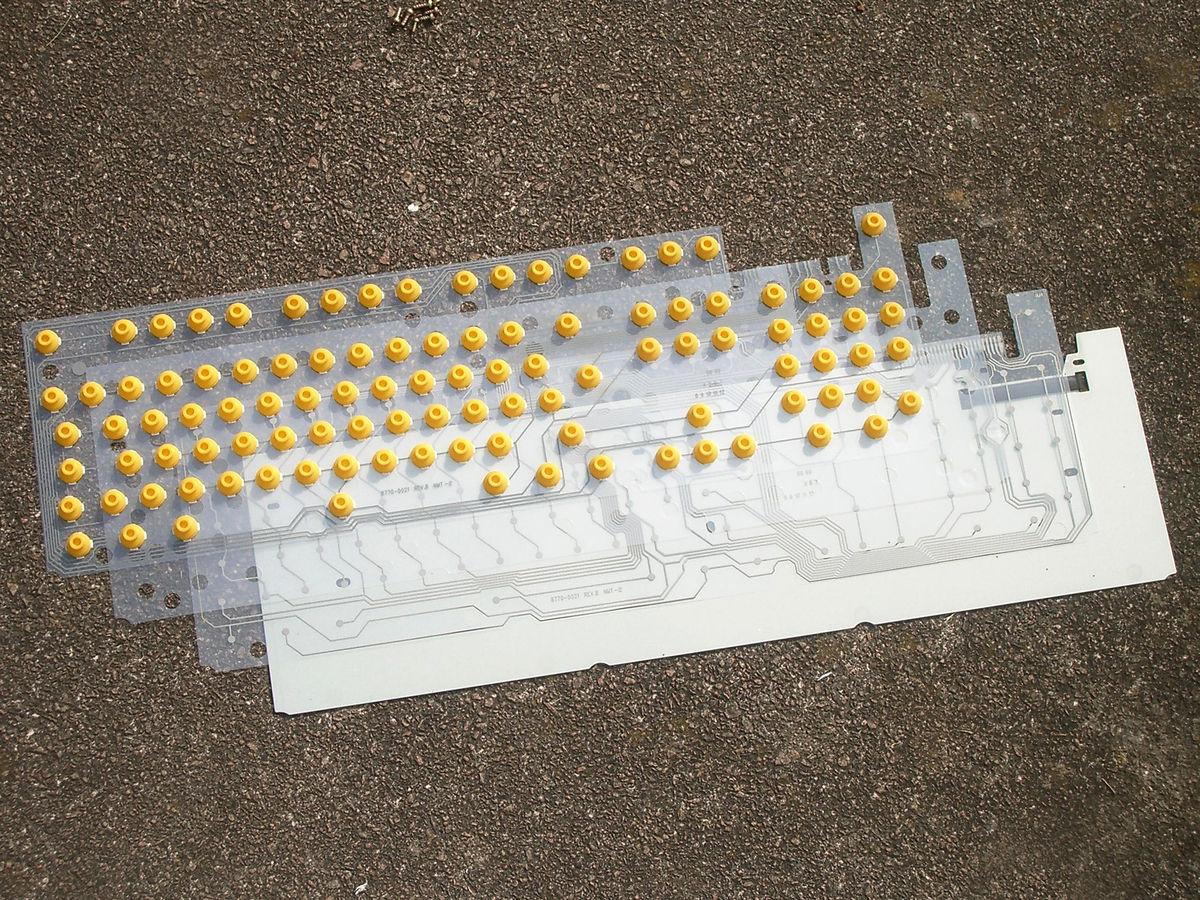 Esqueleto do AppleDesign Keyboard