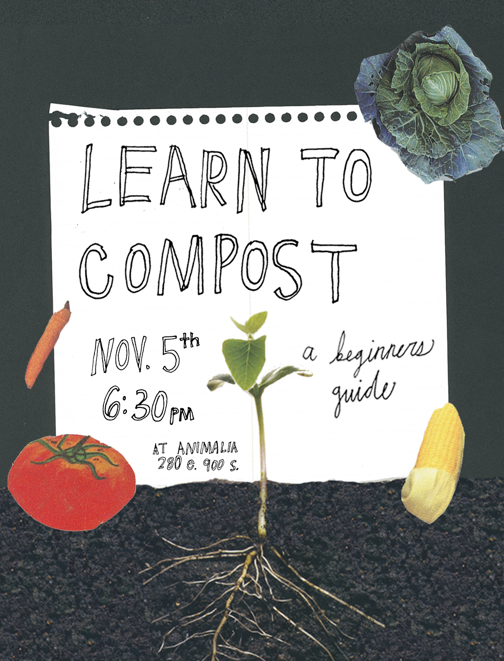 compost with blair