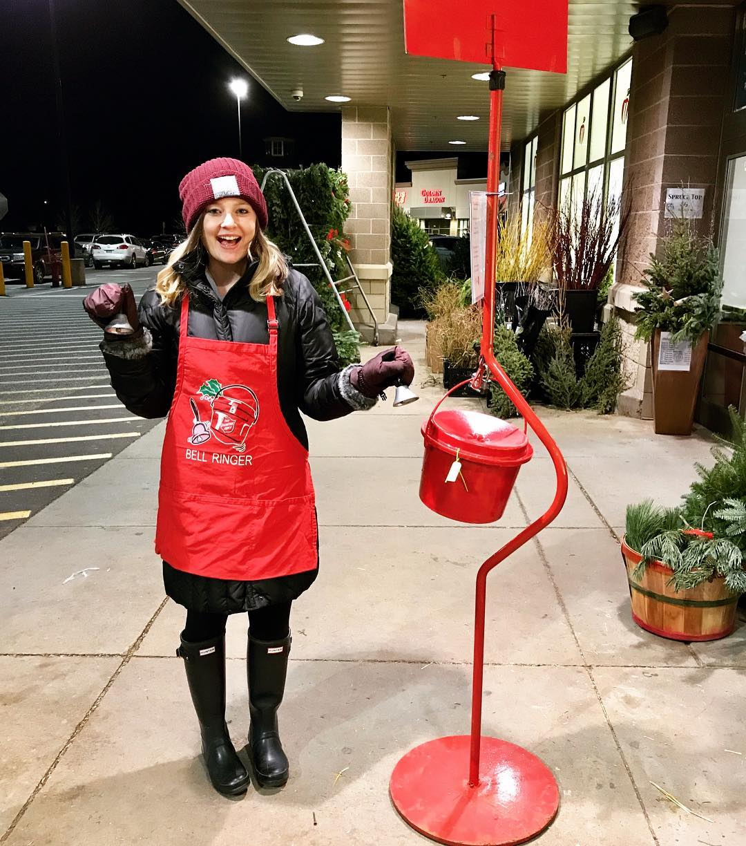 Volunteering for the Salvation Army