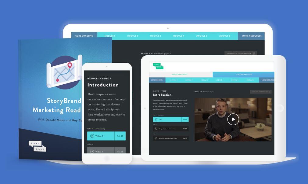 StoryBrand Marketing Roadmap Course online donald miller