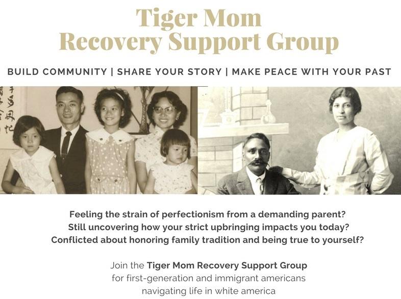 Adult Children of Tiger Moms Support -