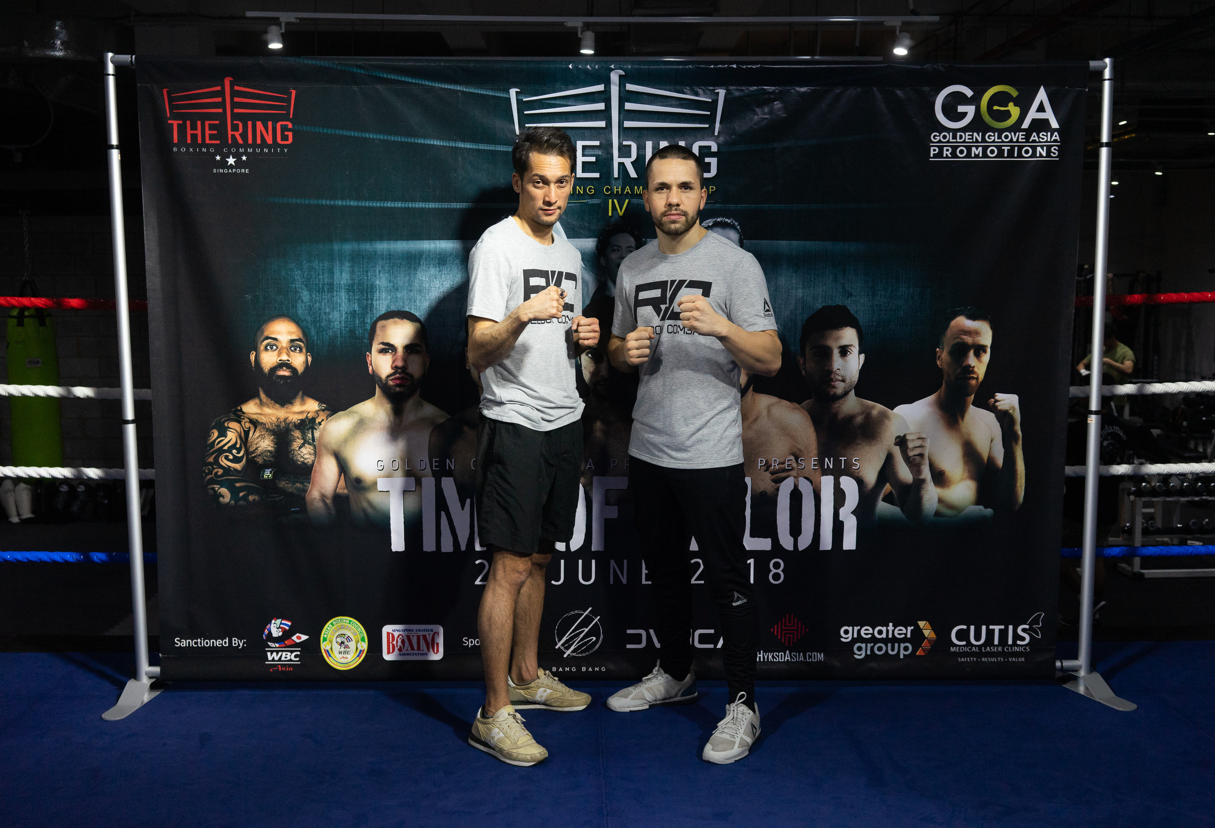 The Ring's Boxing Coaches and Singapore's Professional Boxers