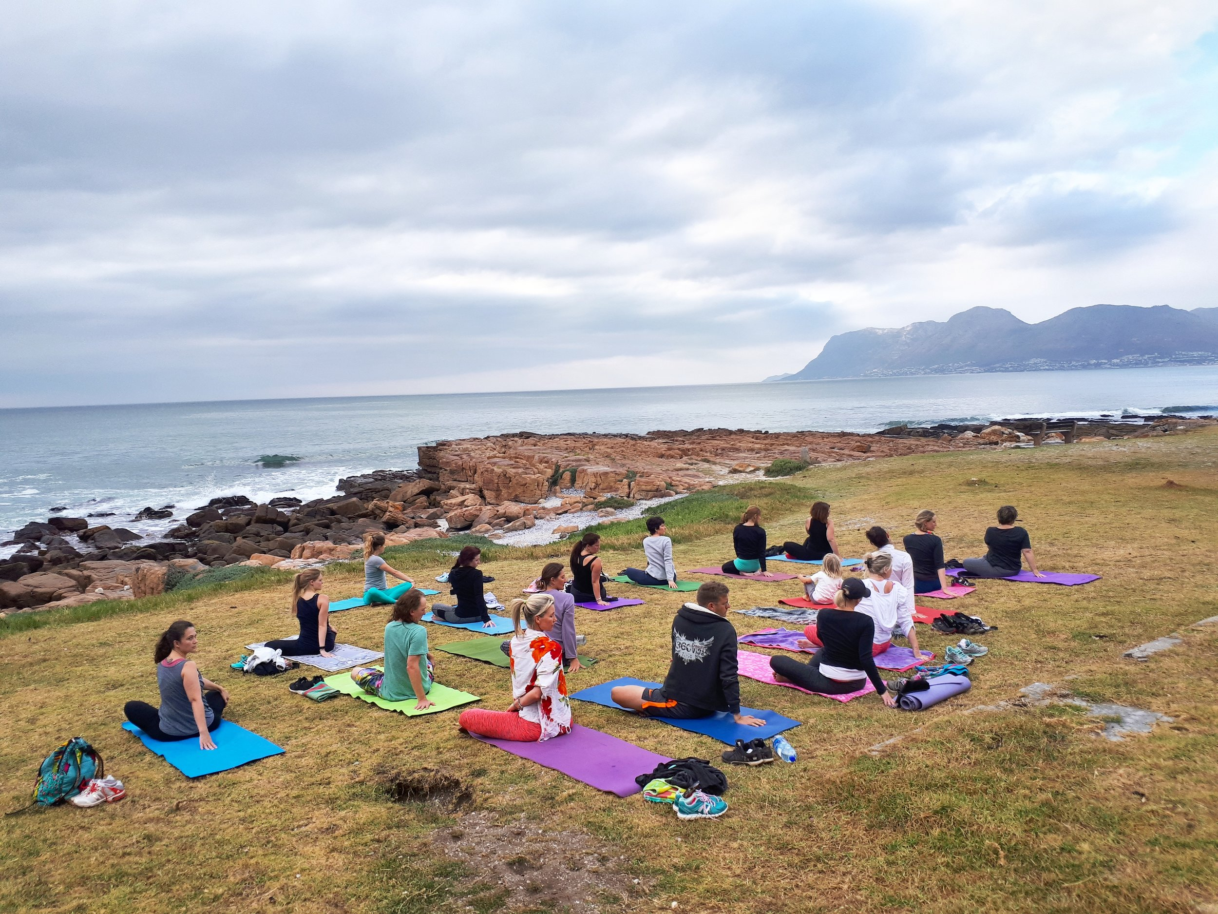 Sunset Yoga in St James