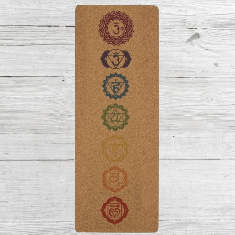 Cork Yoga Mat - R899.00 - Natural cork surface bonded to a 100% natural tree rubber base. Naturally anti-microbial to prevent bacteria, mold and odors. Hypoallergenic surface. Dimensions: 183cm X 66cm X 5mm